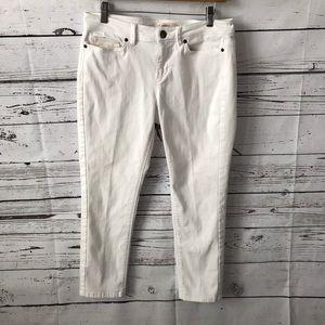 J. Jill Authentic Fit Slim Ankle Jeans Size 8P